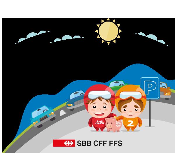 condivisione auto BePooler SBB